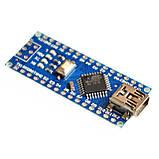 Arduino Nano V3 ATmega 328 + Ch340g 16 мГц UART USB, фото 2