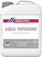 Грунтовка глубокой пропитки Krautol Aqua Tiefgrund, 10 л.