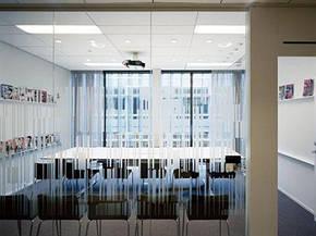 Ecophon Focus Dg Уникальный дизайн кромки. Впечатление парящих в воздухе панелей. Панели легко демонтируются., фото 2