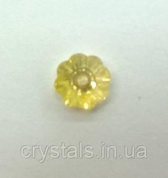 Пришивные цветочки Preciosa (Чехия) Crystal Blond Flare 8 мм