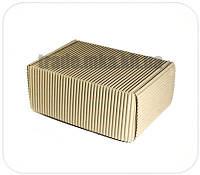 Бурые коробки из двухслойного гофрокартона 24х17х10 см