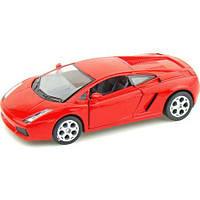 Модель автомобиля Lamborghini Gallardo  в масштабе 1 : 32 (KT5098W)