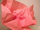 Бумага тишью коралловая 100 листов, фото 3