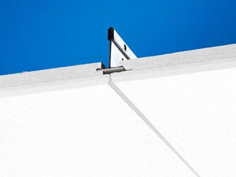 Ecophon Focus Ds Скрытая подвесная система. Панели легко демонтируются. Симметричная кромка