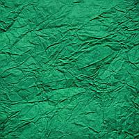 Темно-зеленая жатая бумага, 70 см х 5 м