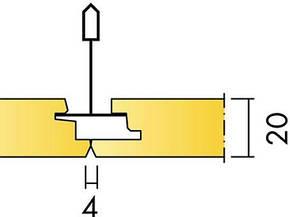 Ecophon Focus Ds Скрытая подвесная система. Панели легко демонтируются. Симметричная кромка, фото 2