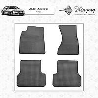 Коврики резиновые в салон Audi A6 (C7) с 2011 (4шт) Stingray