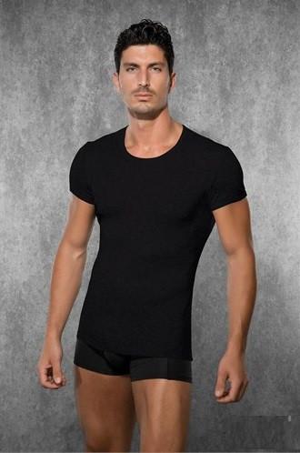 Мужская футболка микромодал Doreanse 2545 черная