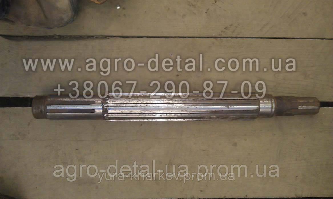 Вал первичный 74.37.402-2 тракторной коробки перемены передач КПП трактора Т 74 ХТЗ