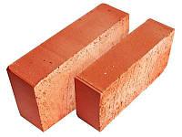 Кирпич красный рядовой полнотелый М75 (строительный), фото 1