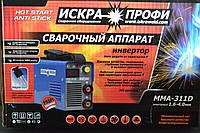 Зварювальний інвертор Іскра Профі MMA 311D, фото 1
