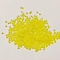Бисер рубка японский Матсуно Япония. Бісер MATSUNO  11/ 2 CUT 100 грам, №731, жовтий керамічний