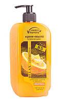 Крем-мыло ENERGY of Vitamins освежающее, цедра грейпфрута с цветами апельсина 500 мл