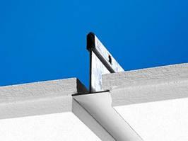 Ecophon Focus E Полускрытая подвесная система. Панели легко демонтируются.