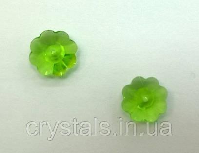 Пришивные цветочки Preciosa (Чехия) Peridot 12 мм