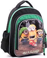 Школьный рюкзак 9 л., для мальчика Wallaby, 124 черный
