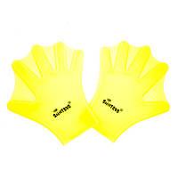 Лопатки-лягушки для плавания SAINTEVE, силикон, желтый (SDL-106-(yl))