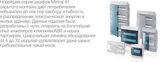 Mistral IP41 Щиты настенные пластиковые