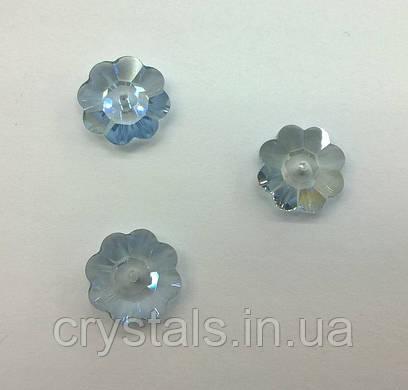 Пришивные цветочки Preciosa (Чехия) Crystal Lagoon 14 мм