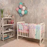 Набор в детскую кроватку  Baby Design Premium прованс (6 предметов), фото 1