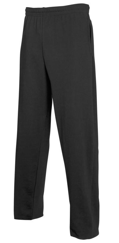 Мужские штаны для бега Lightweight Open Hem, S (42-44), Чёрный