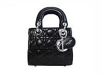 Женская сумка в стиле Christian Dior (черная) №6100