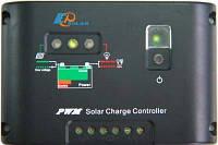 PV Контролер заряду для сонячних батарей EPHC10-EC 10А, 12/24Vauto, ручне On/Off