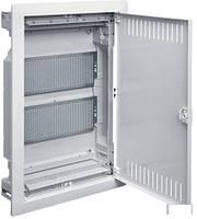 Распределительный щит VOLTA  для мультимедиа и связи 2-рядный, с/у с металлической дверцей