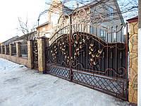 Ворота кованые Рідків