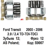 Бендикс (привод) редукторного стартера Ford Mondeo 2.0 TDi, 2.0 TDCi (Форд Мондео) 00-06.
