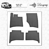 Ковры резиновые в салон Audi Q7 с 2015 (4шт) Stingray
