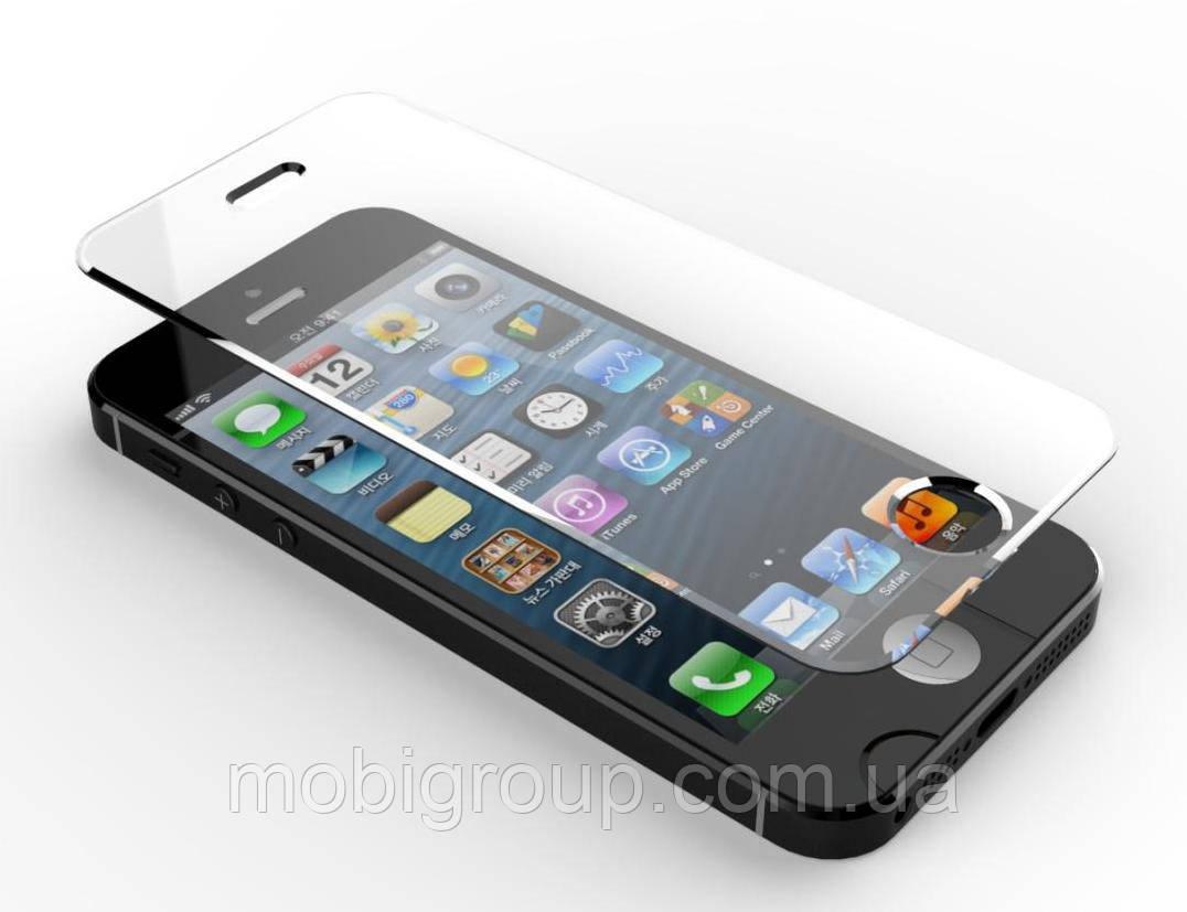 Стекло защитное 0.26 мм для iPhone 4S/4/SE/5S/5/5C/iPod оптом, крупным оптом
