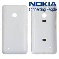 Задняя панель корпуса для Nokia Lumia 530, белая, оригинал