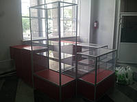 Отдел торговый из алюминиевого профиля, фото 1