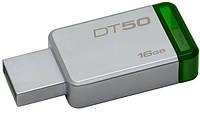 Флешка Kingston DataTraveler  DT50/16GB  Green 16GB USB 3.1