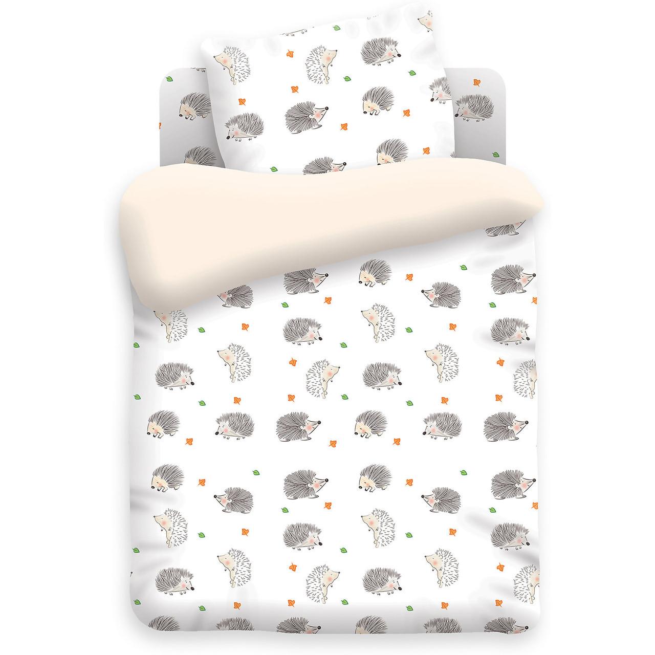 Сменный детский постельный комплект «Ежики», Непоседа
