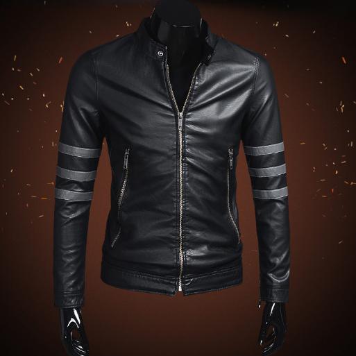 Мужская кожаная куртка. Модель 2023