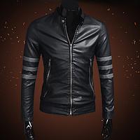 Мужская кожаная куртка. Модель 2023, фото 1