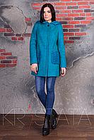 Шерстяное пальто прямого кроя Скай крупное букле