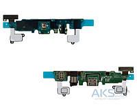 Шлейф для Samsung A800F Galaxy A8 Duos с разъемом зарядки, гарнитуры и микрофоном Original