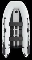 Лодка Parsun Stm 300 светлосерая с гидролыжей