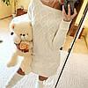 Комплект платье + длинные гольфы