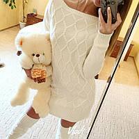 Комплект платье + длинные гольфы, фото 1
