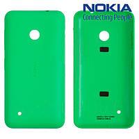 Задняя панель корпуса для Nokia Lumia 530, зеленая, оригинал