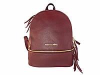 Женский рюкзак в стиле Michael Kors (бордовый) №9338-1