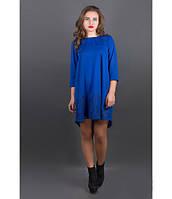 Платье свободного кроя для девушек  Грети электрик р.44-52