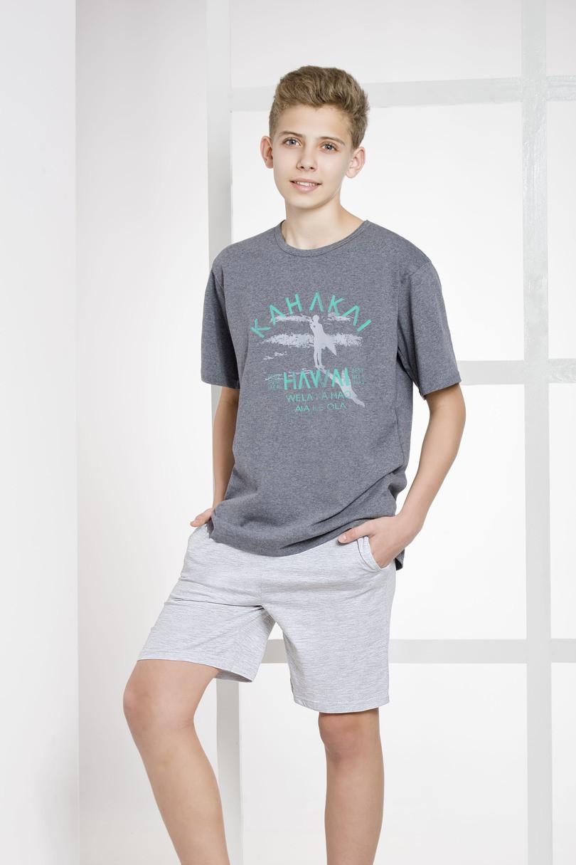 Пижама для мальчика.146-158.Коллекция 2017. Польша.Taro 1109 KAROL