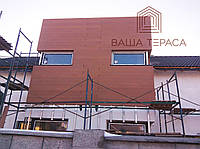 Монтаж фасадной доски, фото 1