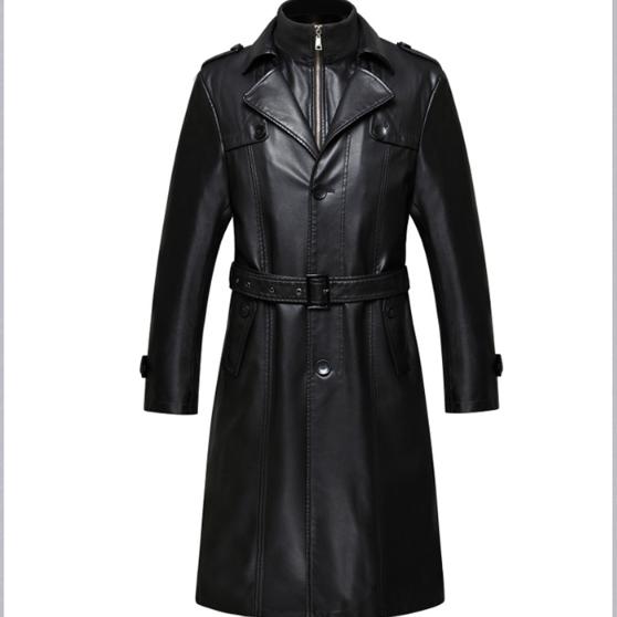 Мужская кожаная куртка. Модель 2025
