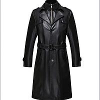 Мужская кожаная куртка. Модель 2025, фото 1